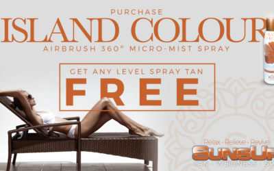 Any Level FREE Spray Tan with Purchase