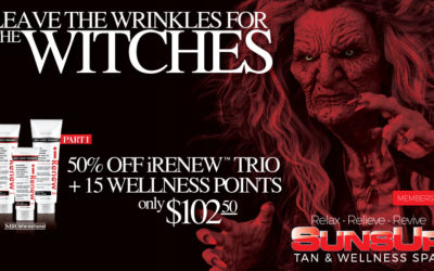 LEAVE THE WRINKLES TO THE WITCHES- Part 1