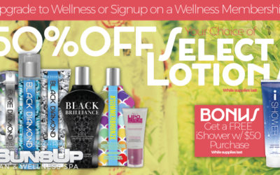 50% OFF Select Lotions!
