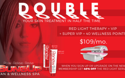 Double Your Skin Treatment!