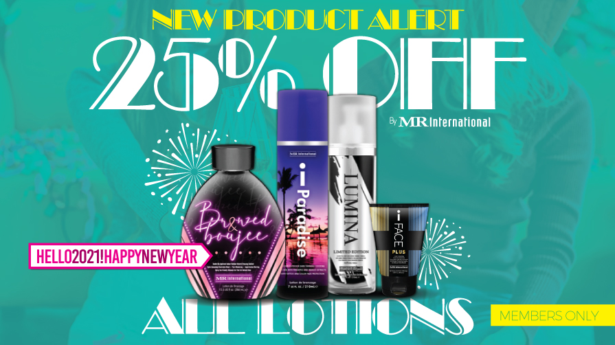 NEW PRODUCT ALERT! 25% Off All Lotions!