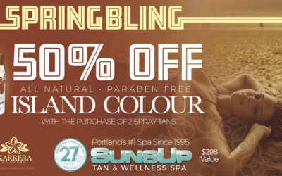 50% OFF Island Colour Spray!